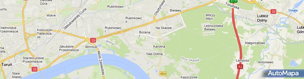 Zdjęcie satelitarne Wojciechowski Janusz JSV Przedsiębiorstwo Produkcyjno Usługowo Handlowe