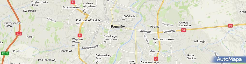 Zdjęcie satelitarne Wolters Kluwer Polska Sp. z o.o.