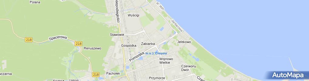 Zdjęcie satelitarne Wordgarden - Aleksandra Brożek-Sala
