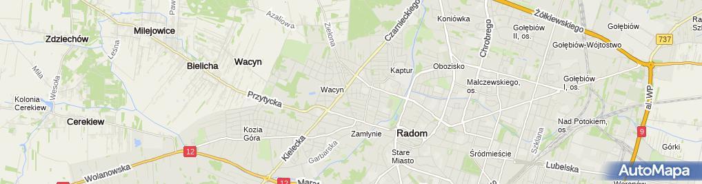 Zdjęcie satelitarne Wspólnik Spółki Cywilnej Argop Przedsiębiorstwo Produkcyjno-Usługowo-Handlowe