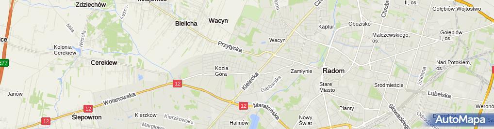 Zdjęcie satelitarne Wspólnik Spółki Cywilnej Dawmat Firma Usługowo Handlowo Produkcyjna SC Wojciech Woźniak, Dariusz Pysiak, Rajmund Kierzkowski
