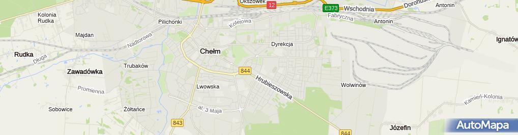 Zdjęcie satelitarne Wspólnota Mieszkaniowa ul.Katedralna 3A