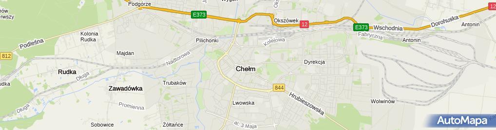 Zdjęcie satelitarne Wspólnota Mieszkaniowa ul.Szkolna 11