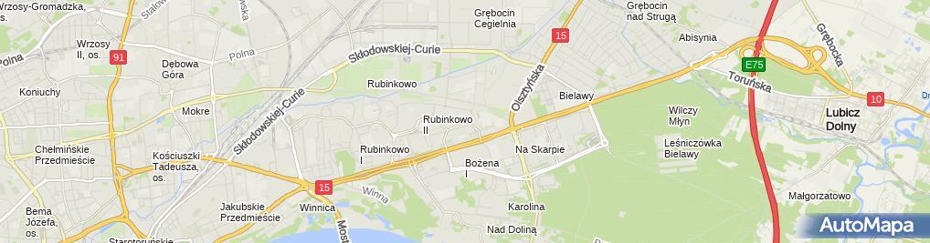 Zdjęcie satelitarne Wszelak Marta Wszelcom