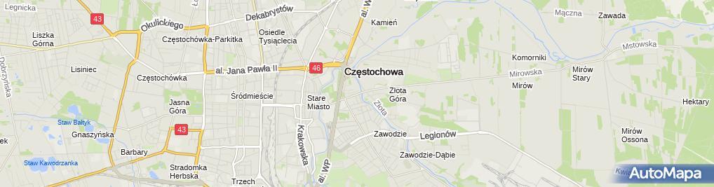 Zdjęcie satelitarne Wulkanizacja, Naprawy Felg- Suchan Zakład Usługowo-Handlowy Tomasz Suchan