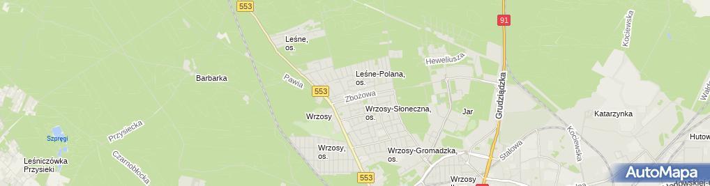 Zdjęcie satelitarne Wwmc