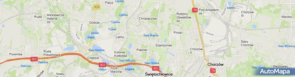 Zdjęcie satelitarne www.najlepszaszkolajazdy.pl Paweł Wójcik