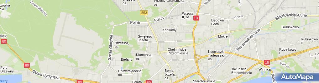 Zdjęcie satelitarne Wydawnictwo Artus Wieczór Rafał Supczińska Lidia
