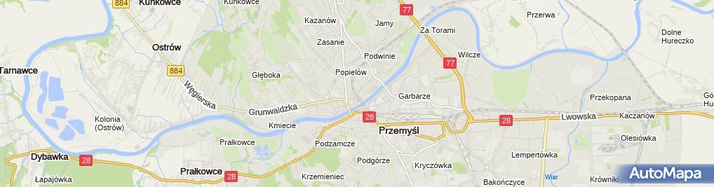 Zdjęcie satelitarne Wypożyczalnia Kaset Video Anna Drozdowska