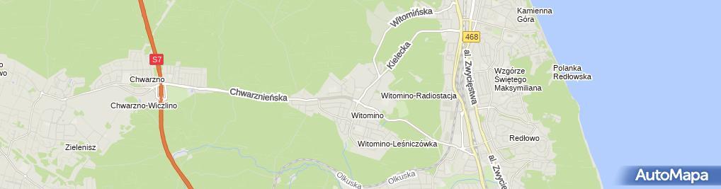 Zdjęcie satelitarne Wypożyczalnia Kaset Video Dawidowska Aleksandra