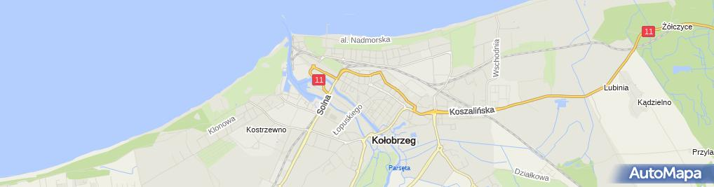 Zdjęcie satelitarne Wyszyńska Iwona Master Fiskal i Wyszyńska w Wyszyński