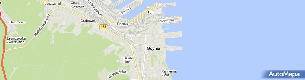 Zdjęcie satelitarne Yellow Point Studio Reklamy