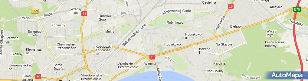 Zdjęcie satelitarne Zakład Blacharki Pojazdowej i Ślusarstwo Sochacki Wojciech