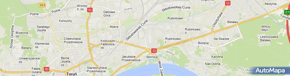 Zdjęcie satelitarne Zakład Elektroniczno Elektryczny Lekoprąd
