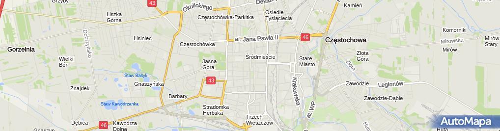 Zdjęcie satelitarne Zakład Handlowo Usługowy Masko