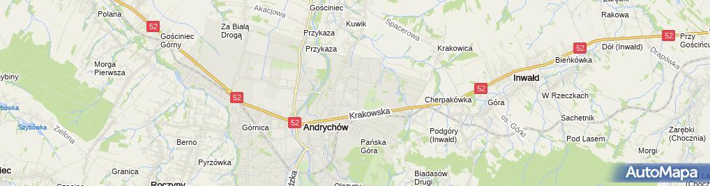 Zdjęcie satelitarne Zakład Handlowy