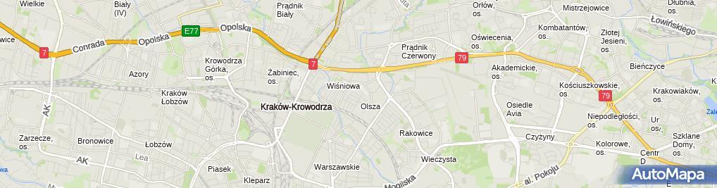 Zdjęcie satelitarne Zakład Instalacji Sanitarnych Zbigniew Kaczorkiewicz