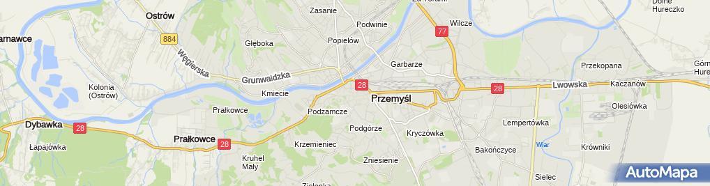 Zdjęcie satelitarne Zakład Kaletniczy Handel Detaliczny w Różnych Branżach