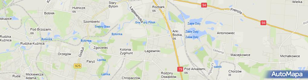 Zdjęcie satelitarne Zakład Optyczny Jakub Kasprzak