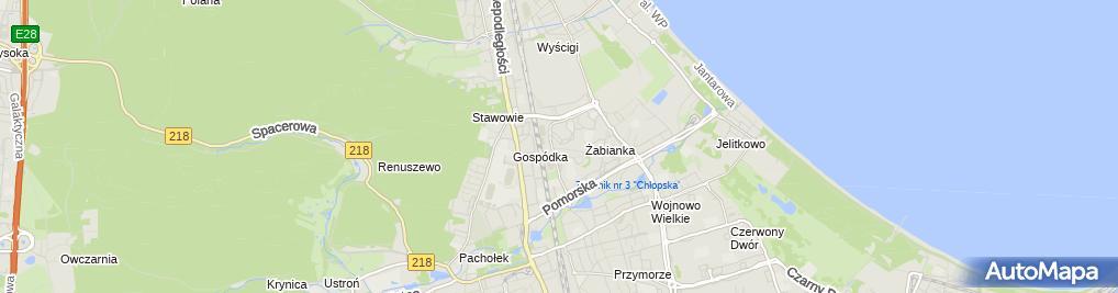 Zdjęcie satelitarne Zakład Ortopedyczny