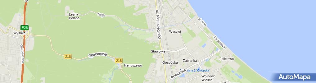 Zdjęcie satelitarne Zakład Pralniczy Biellux