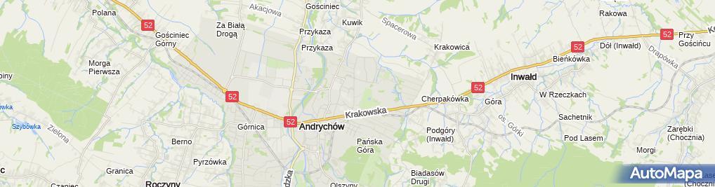 Zdjęcie satelitarne Zakład Produkcyjno Handlowo Usługowy Wimar