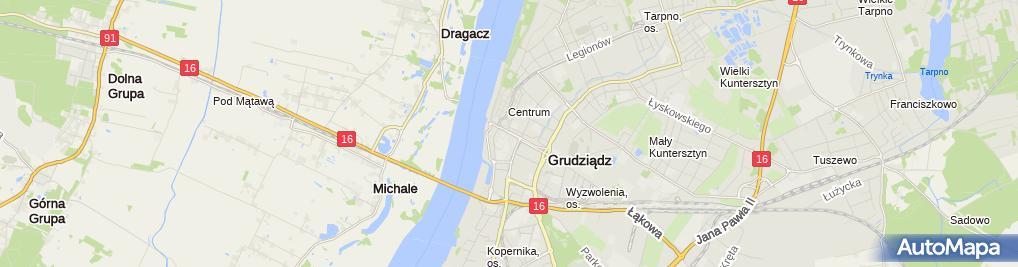 Zdjęcie satelitarne Zakład Produkcyjno Handlowy Alfatronic Kulwicka Jadwiga Ciosek Marek