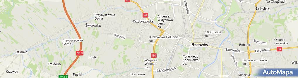 Zdjęcie satelitarne Zakład Specjalistycznych Usług Kominiarskich Artur Piwko