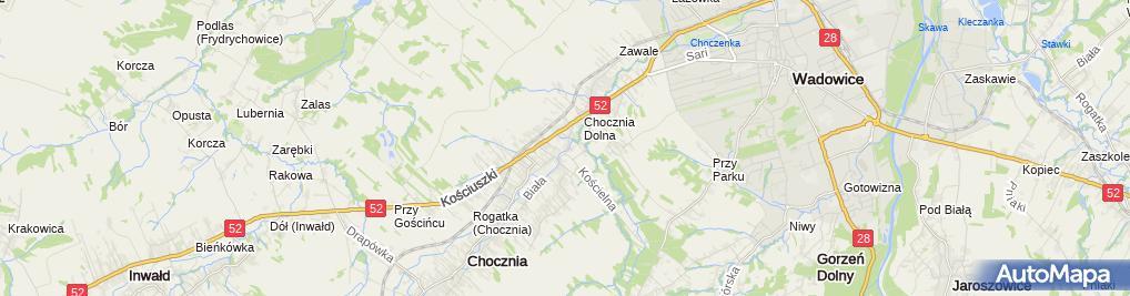 Zdjęcie satelitarne Zakład Stolarski