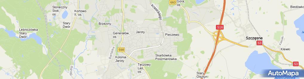 Zdjęcie satelitarne Zakład Usług Pomiarowych Instalacji i Urządzeń Elektrycznych