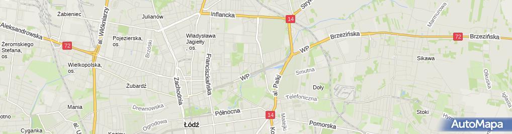 Zdjęcie satelitarne Zakład Usług Projektowych