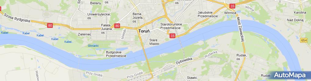Zdjęcie satelitarne Zakład Usługowo Handlowy Klumet S C Iwona Butny Tomasz Drozdowsk