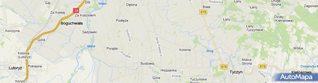 Zdjęcie satelitarne Zakład Usługowo-Handlowy Paśko Krzysztof Paśko