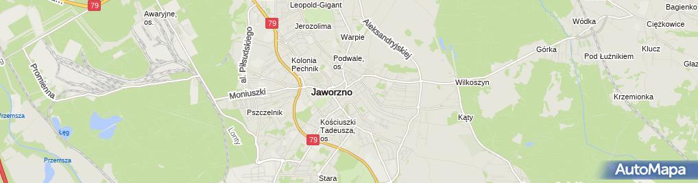 Zdjęcie satelitarne Zakład Usługowo Handlowy Stalmach Witold Obacz Krystyna
