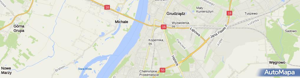 Zdjęcie satelitarne Zakład Usługowo Handlowy Viston