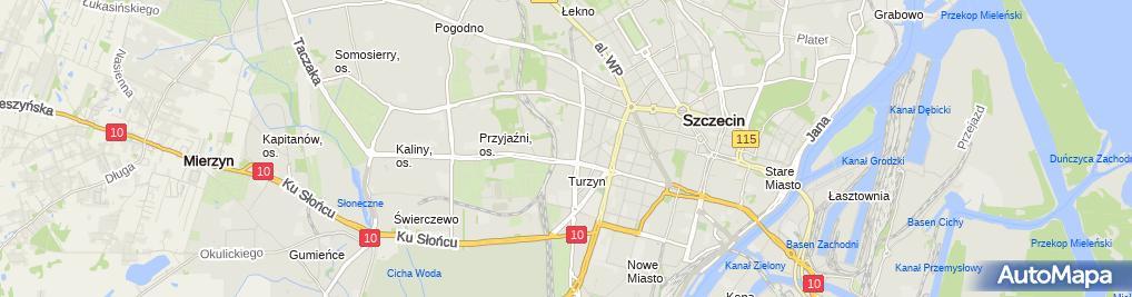 Zdjęcie satelitarne Zakład Usługowy Pik