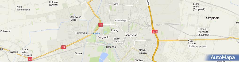 Zdjęcie satelitarne Zakład Usługowy Tele-Radiomechanika - Orłowski Krzysztof