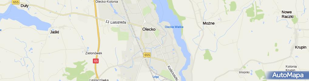 Zdjęcie satelitarne Zakład Zegarmistrzowski Witold Tadeusz Pogorzelski