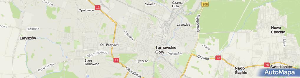 Zdjęcie satelitarne Zasępa Arkadiusz Zakład Ślusarski Arkadiusz Zasępa