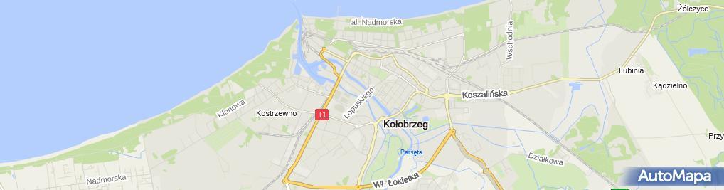 Zdjęcie satelitarne Zbigniew Nowak Taxi Osobowe