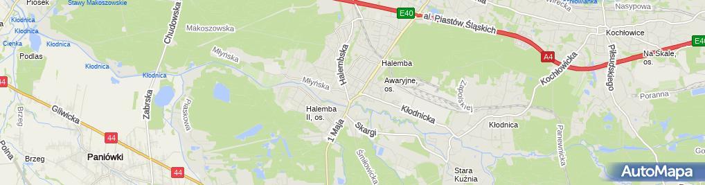 Zdjęcie satelitarne Zbigniew Pupkowski - Działalność Gospodarcza