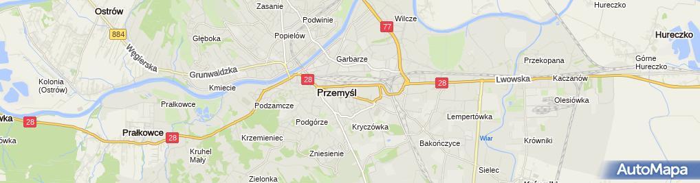 Zdjęcie satelitarne Zbigniew Szafert Firma Handlowa Domet