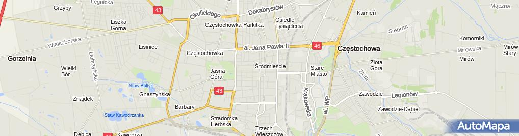 Zdjęcie satelitarne Zbigniew Trzepizur Firma Jubilerska z.Trzepizur