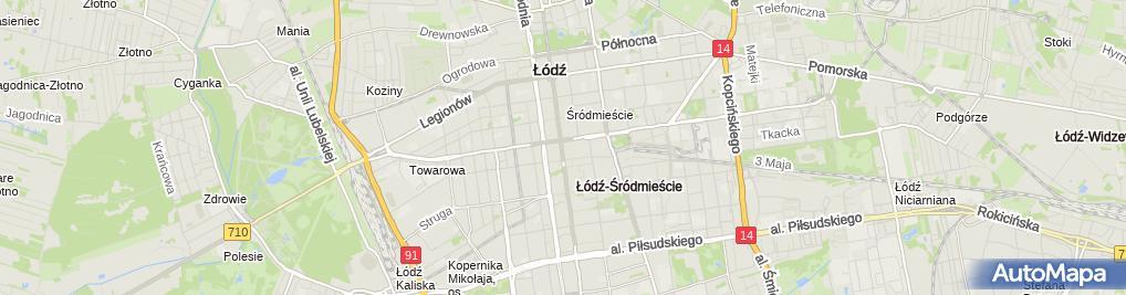 Zdjęcie satelitarne Zbytadex World