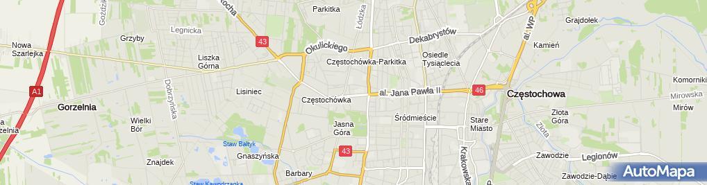 Zdjęcie satelitarne Zdrowie