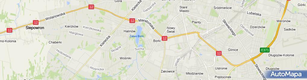 Zdjęcie satelitarne Zenon Domagała - Działalność Gospodarcza