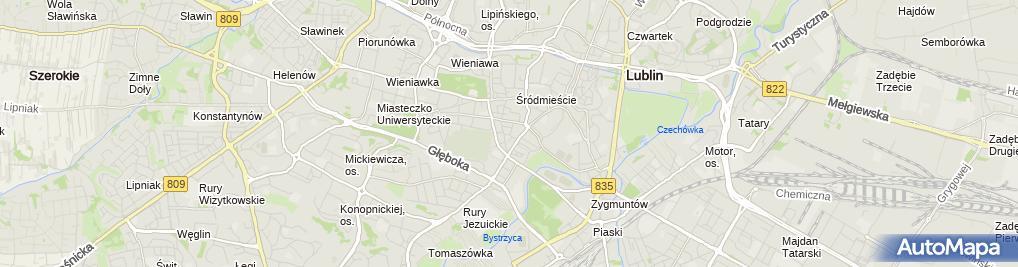 Zdjęcie satelitarne Zienkiewicz Tadeusz Fintraco Tadeusz Zienkiewicz