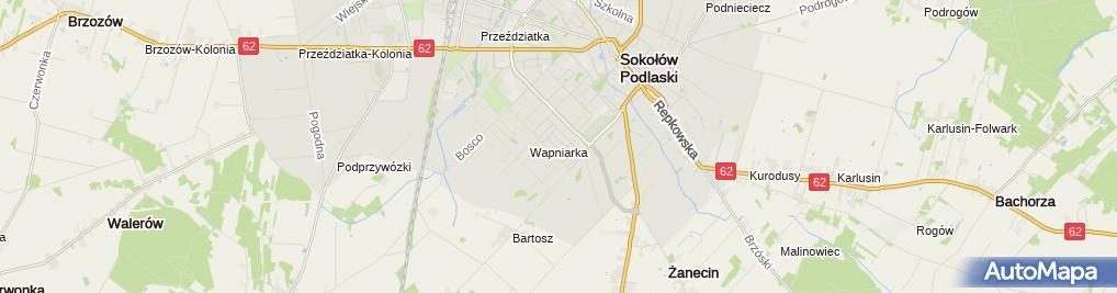 Zdjęcie satelitarne Żochowski Krzysztof