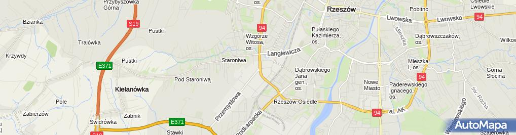 Zdjęcie satelitarne Związek Zawodowy Farmacja Pracowników Icn Polfa Rzeszów