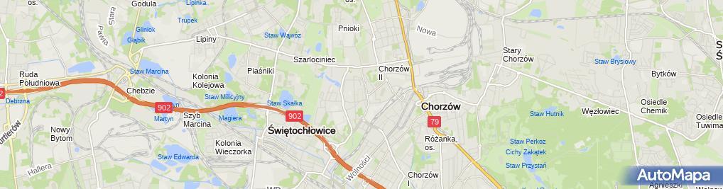 Zdjęcie satelitarne Zygmunt Stuchlik - Działalność Gospodarcza